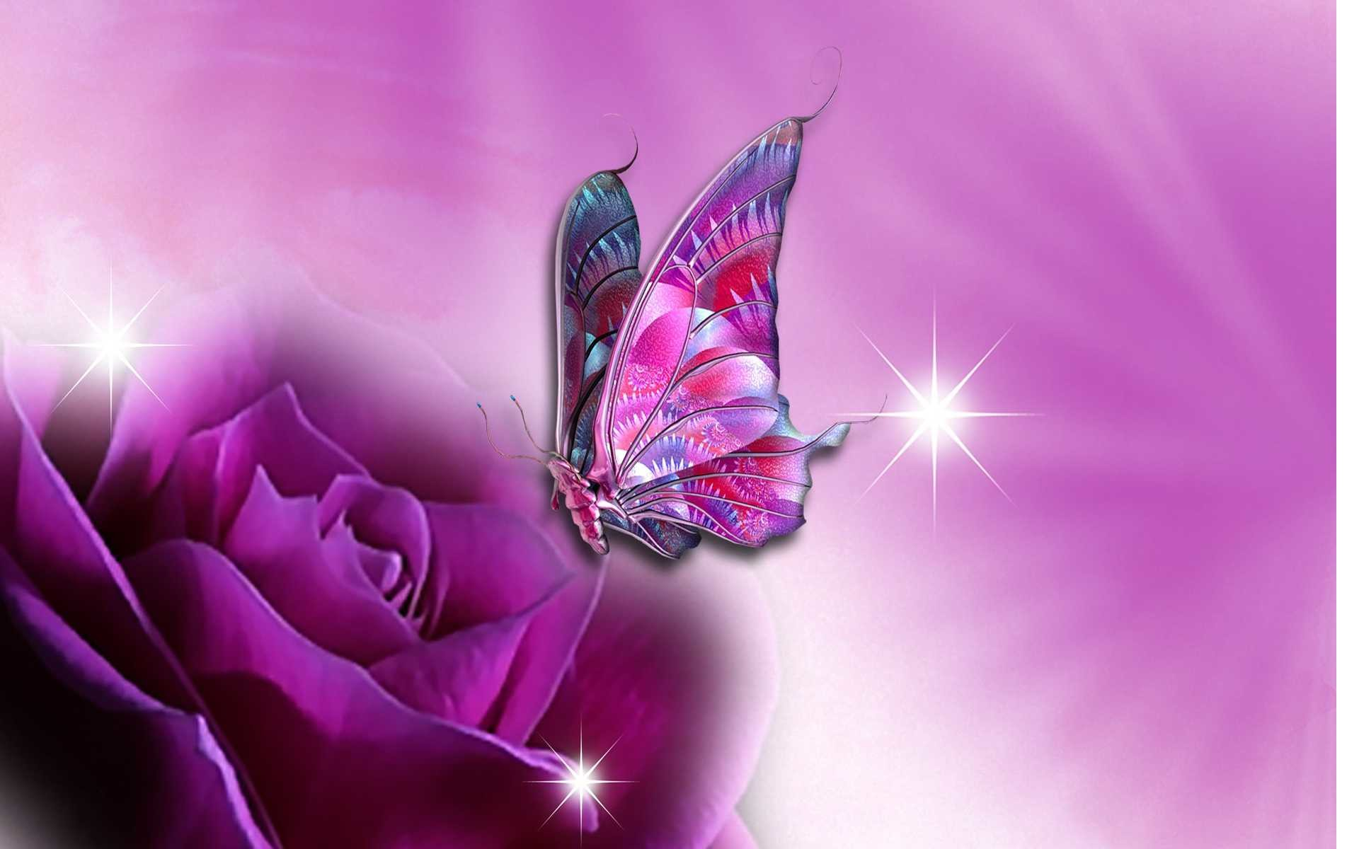 Nice Images Wallpapers - Beautiful Butterfly , HD Wallpaper & Backgrounds