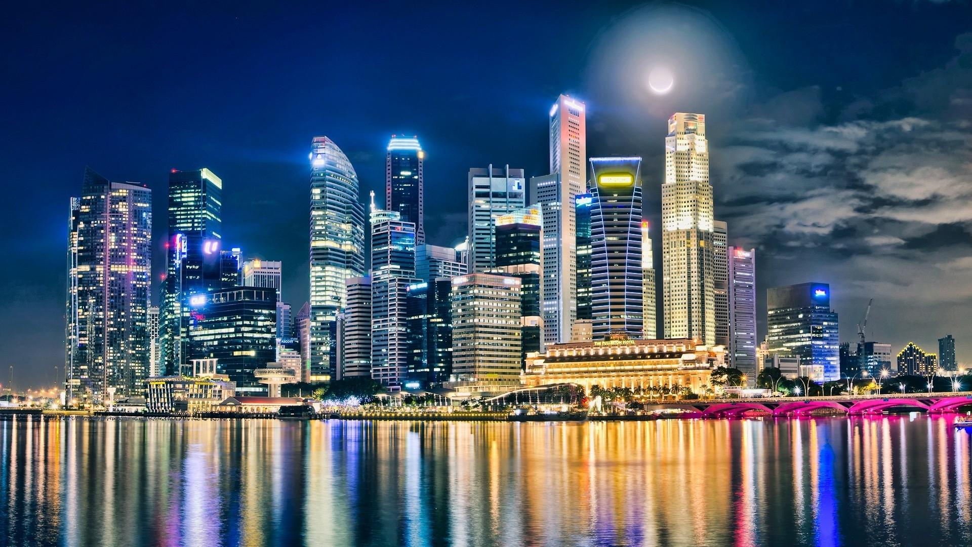 Fantastic Hdr City Wallpaper - Panama City Night Hd , HD Wallpaper & Backgrounds