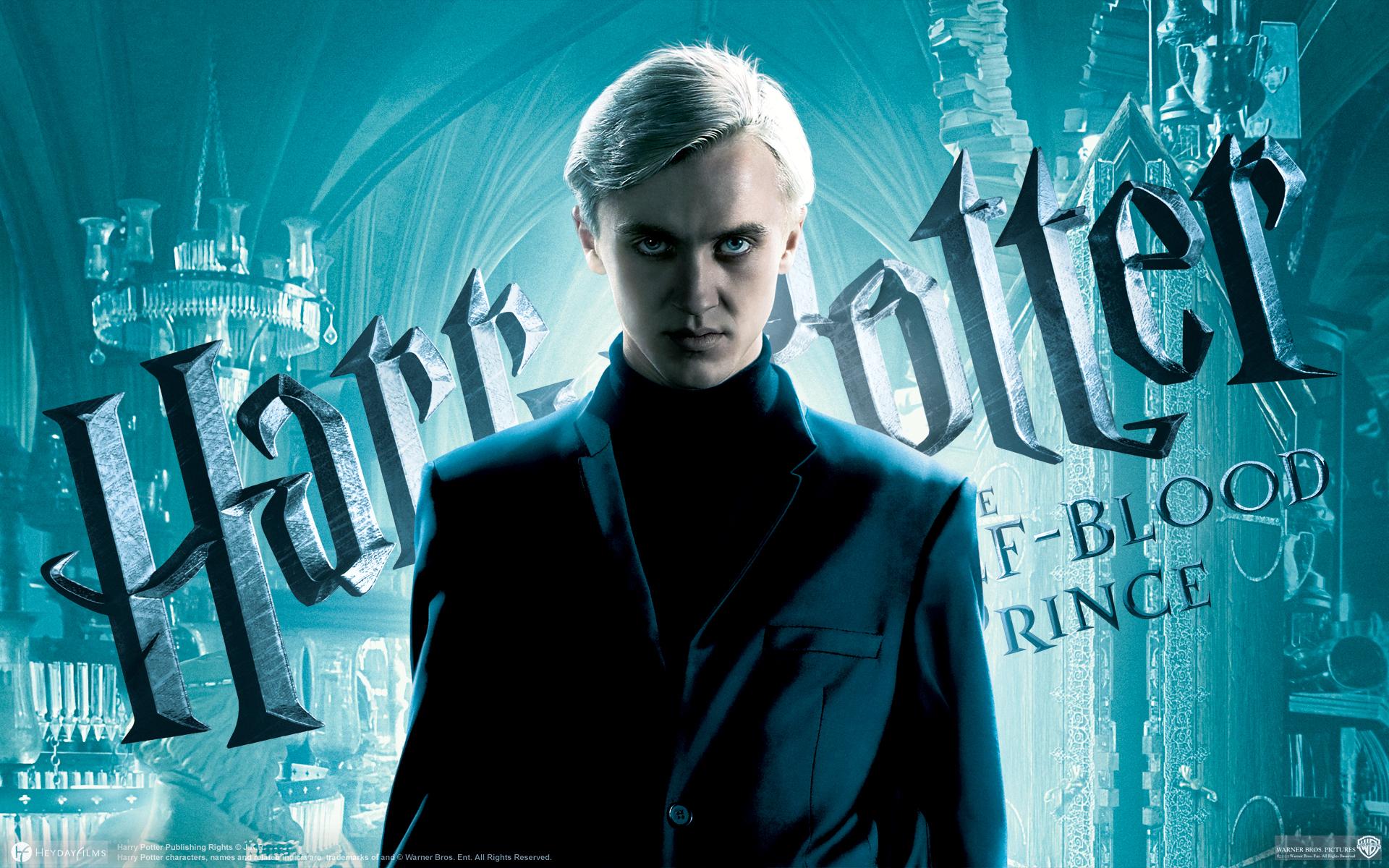Half Blood Prince Draco Malfoy 1400370 Hd Wallpaper