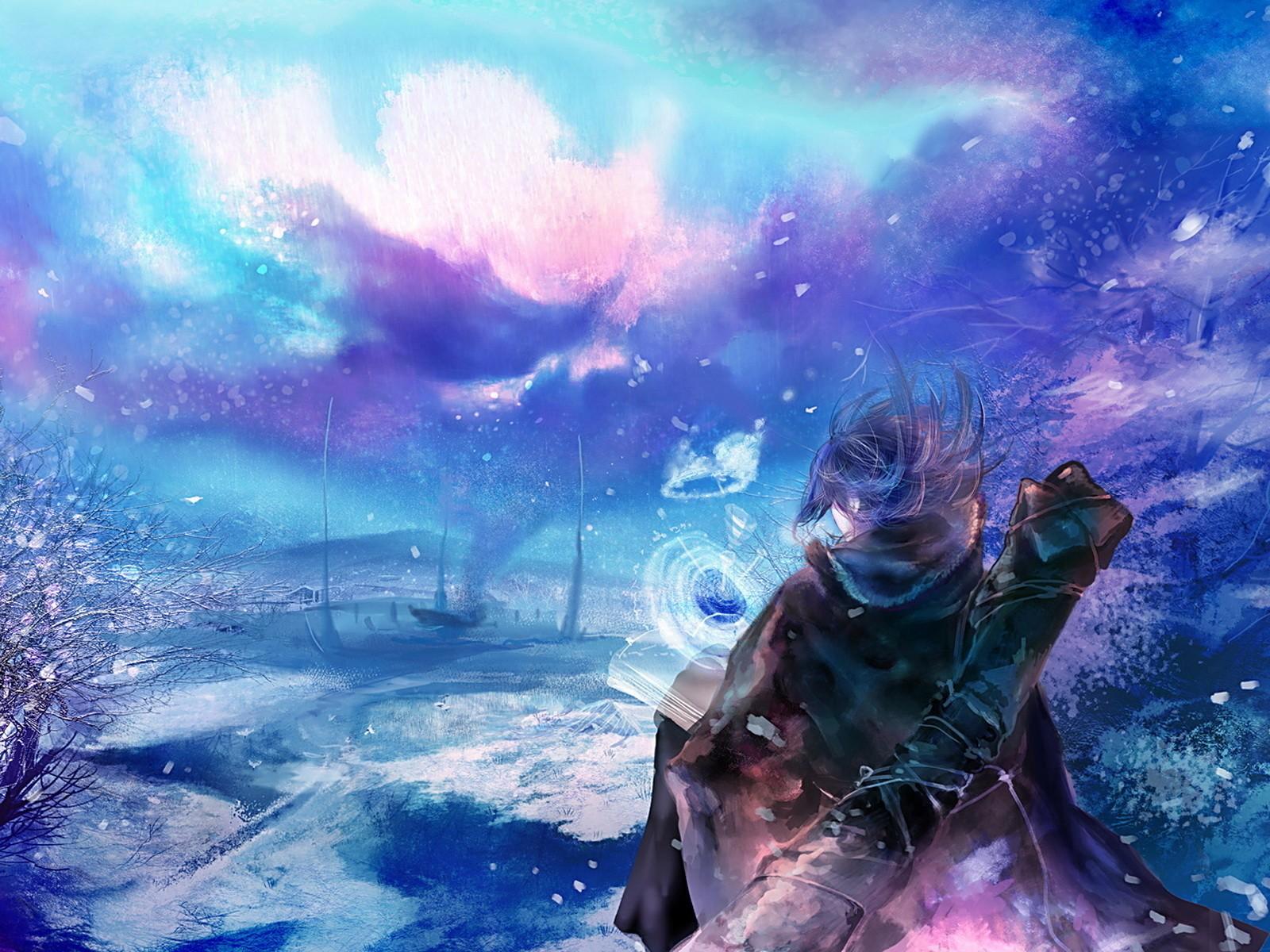 Anime, Anime Girls - Cool Magical Fantasy Anime , HD Wallpaper & Backgrounds