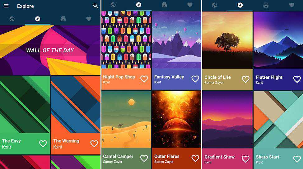 best wallpaper app for android