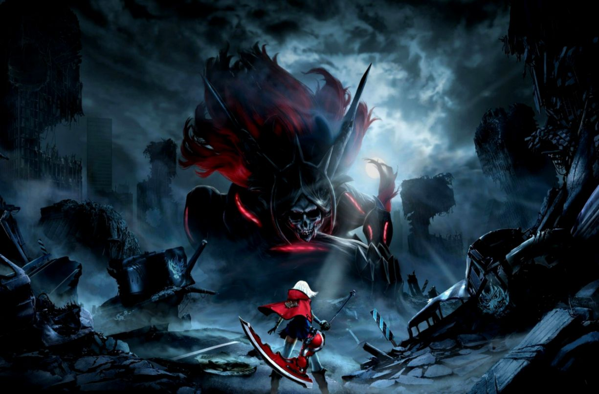 Wallpaper Anime Game God Eater Scythe Aragami Livie God Eater