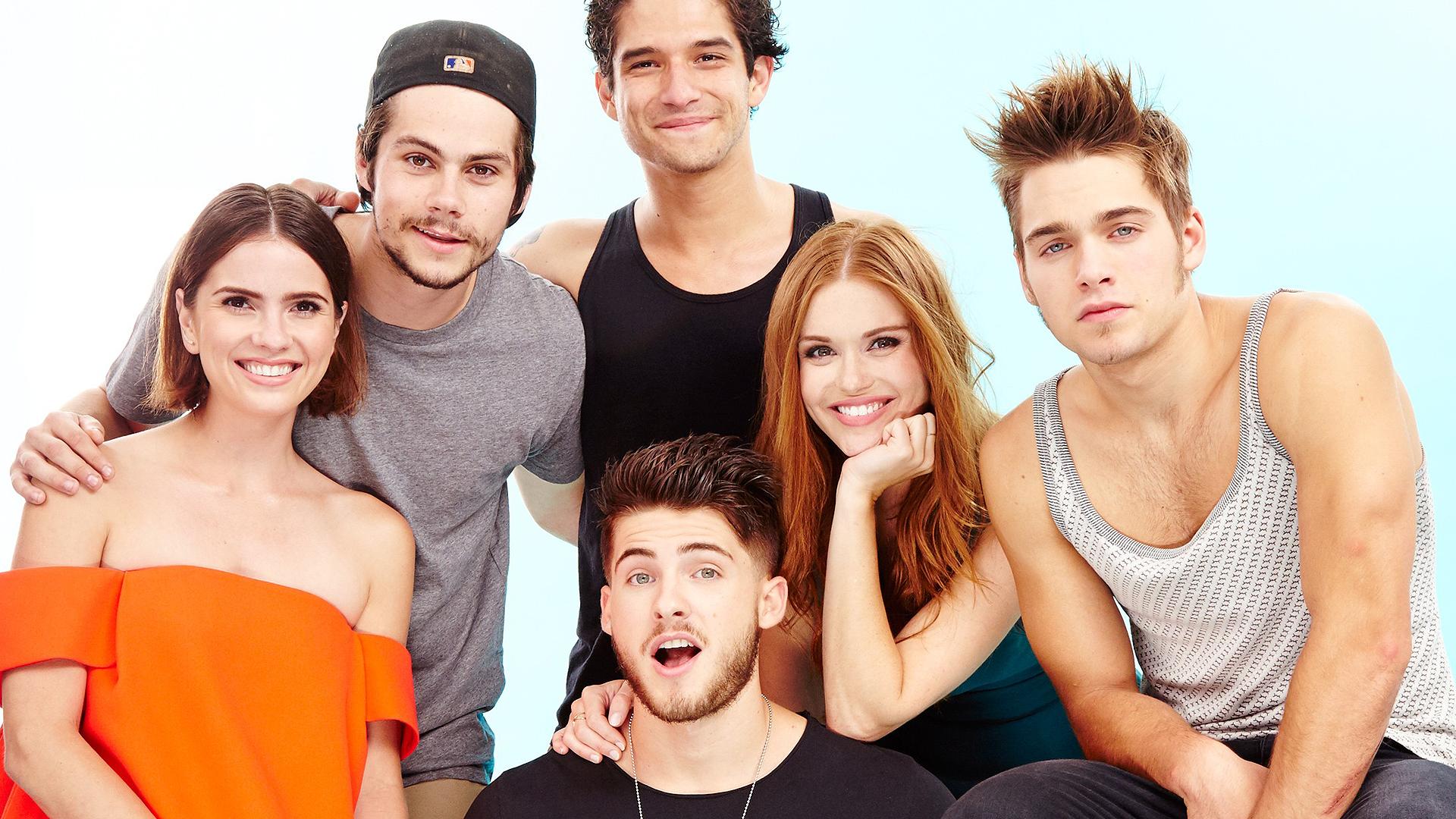 S5 Cast - Teen Wolf Cast Wallpaper Desktop , HD Wallpaper & Backgrounds