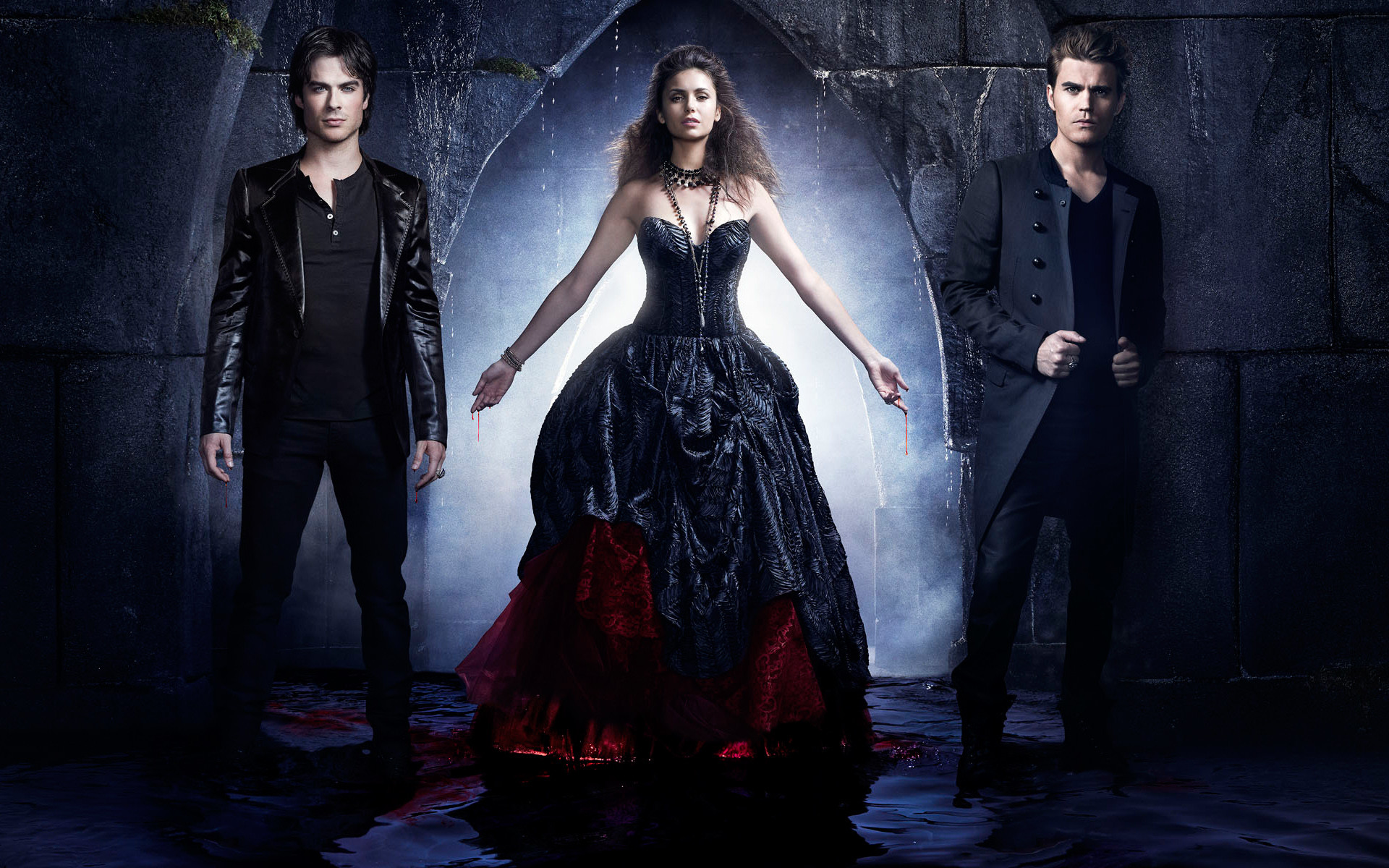 Teen Wolf Phone Wallpaper - Vampires Diary Season 5 , HD Wallpaper & Backgrounds