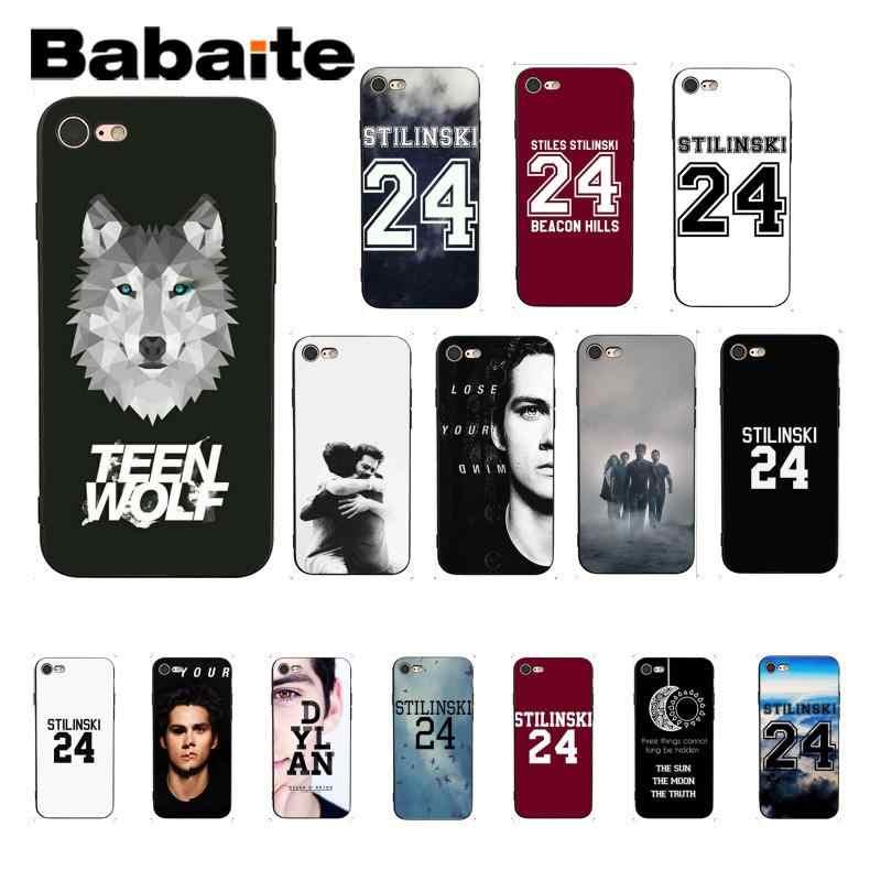 Babaite Stilinski 24 Teen Wolf Diy Printing Drawing Mobile Phone