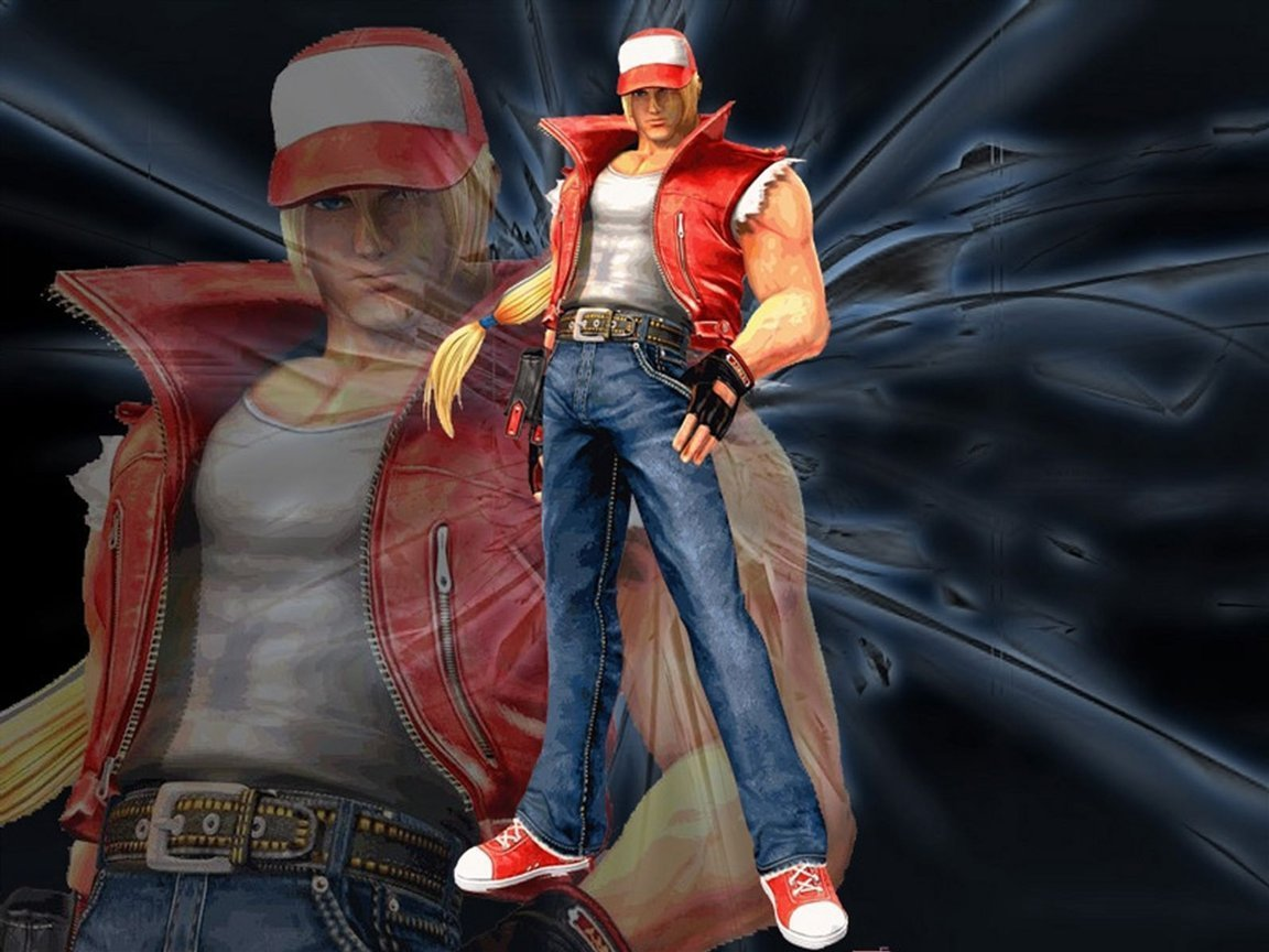 The King Of Fighters Wallpaper Called Kof Terry Bogard King Of