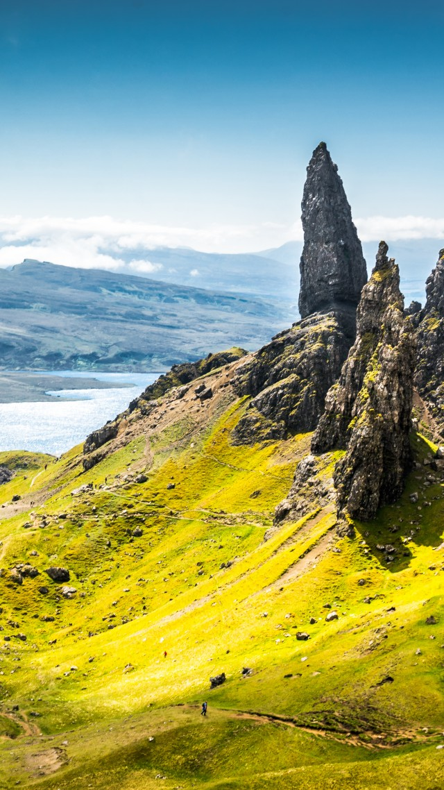 Isle Of Skye Scotland Europe Nature Travel 8k Old Man