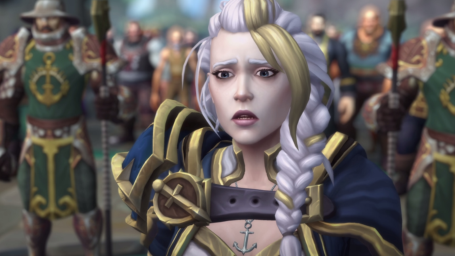 Wow Battle For Azeroth Jaina 1414852 Hd Wallpaper