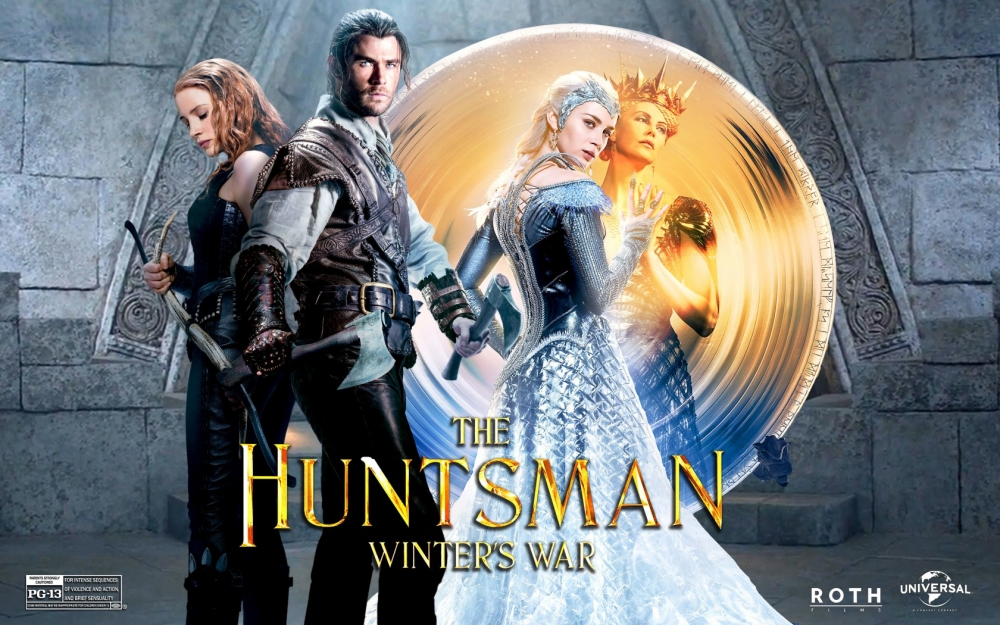 Wallpaper The Huntsman - Huntsman Winter's War Poster (#1417618 ...