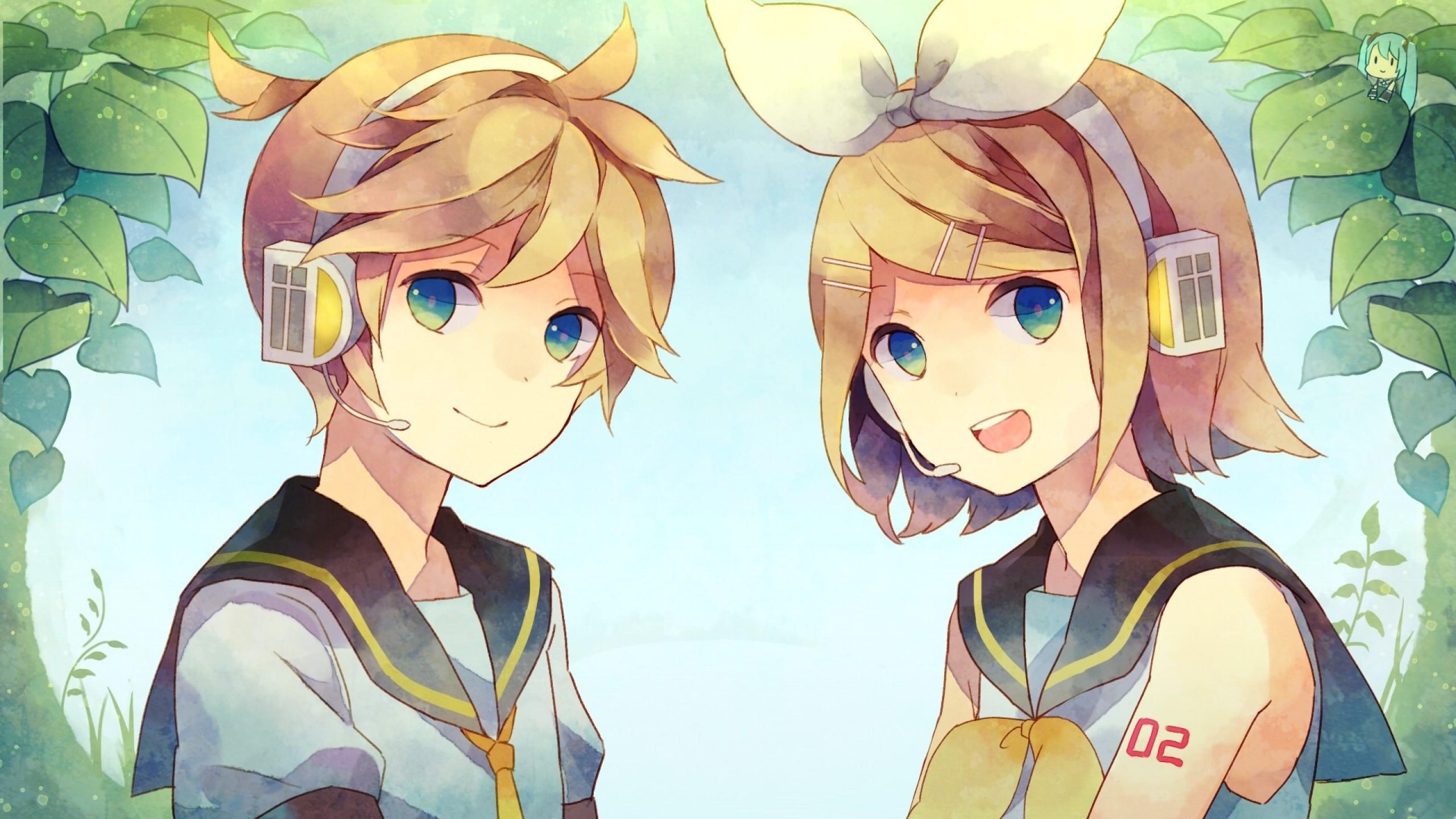 Len Rin Kagamine Len And Rin Kagamine 1419644 Hd