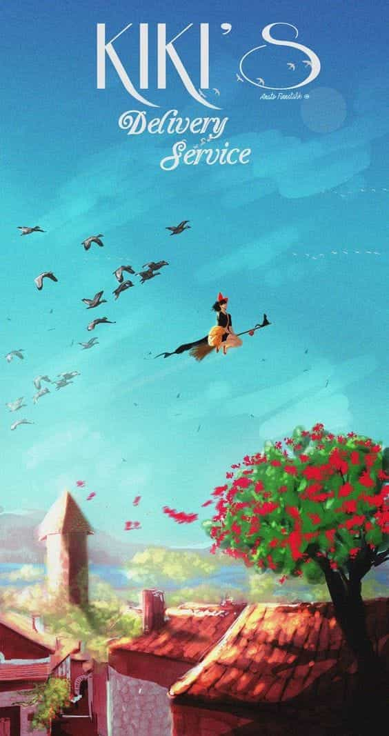 Minimalist Studio Ghibli Aesthetic Wallpaper - Download ...