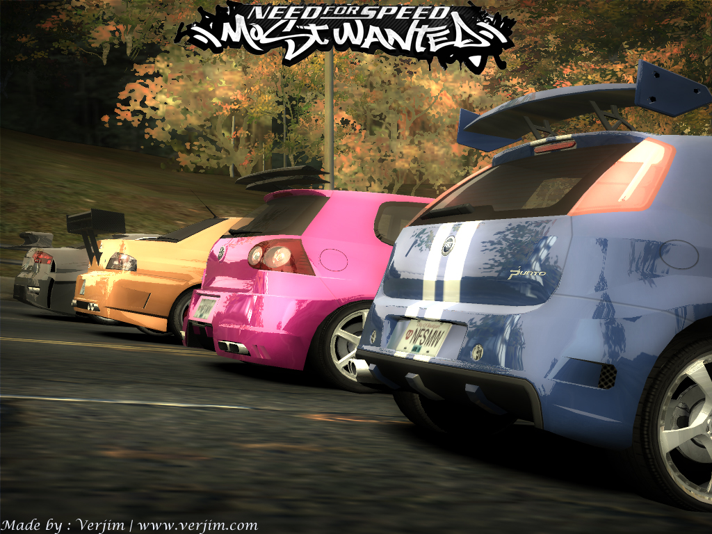 Nfs Most Wanted 2005 Car 1430445 Hd Wallpaper Backgrounds