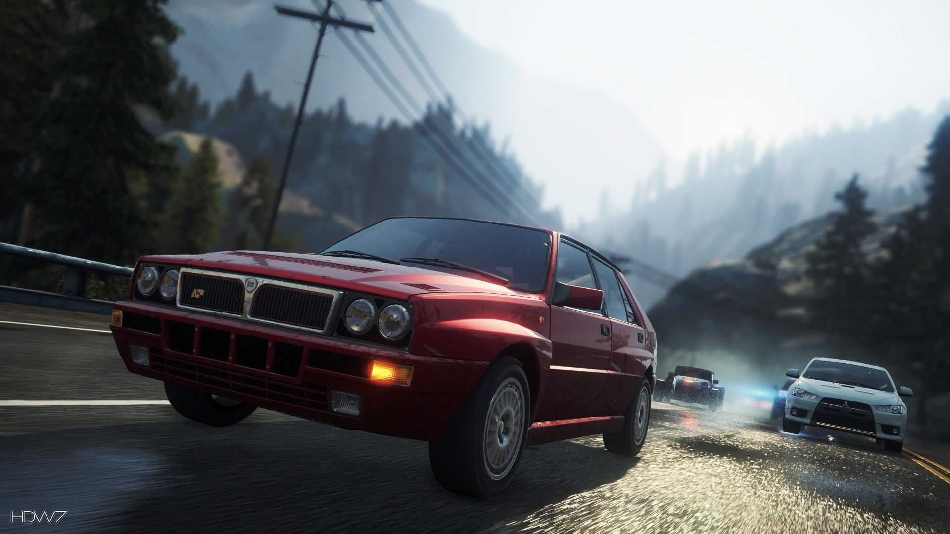 Need For Speed Most Wanted 2012 Lancia Delta Hf Integrale