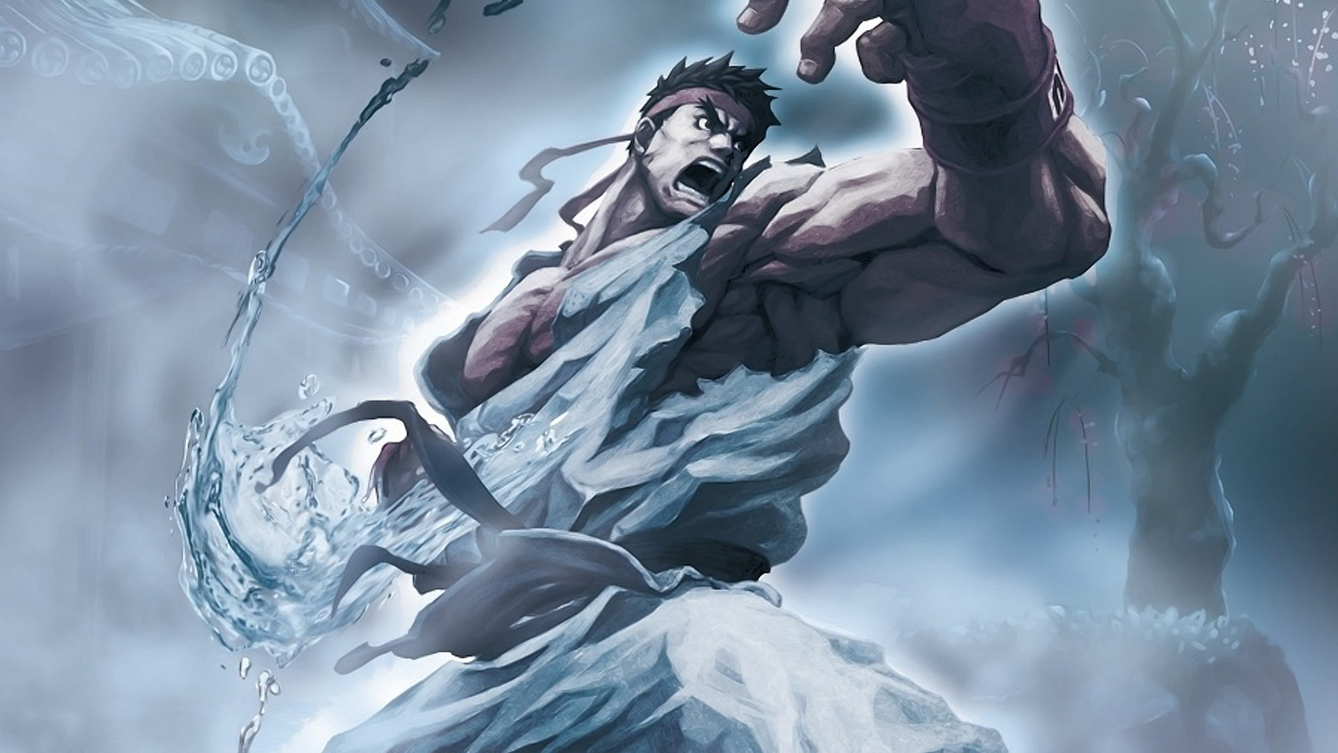 Hd Wallpaper Of Evil Ryu Are Viewing The Main Character