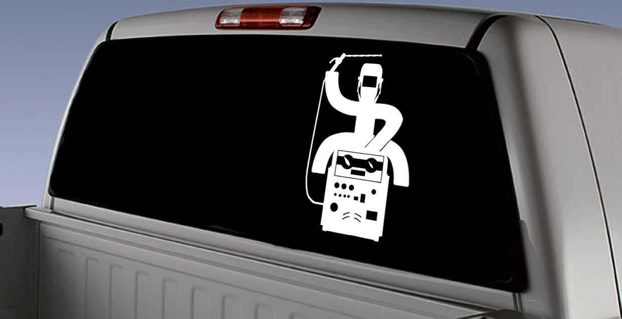 Hooey Welder Rodeo Inspired Car Decal / Hooey Welder - Budweiser ...