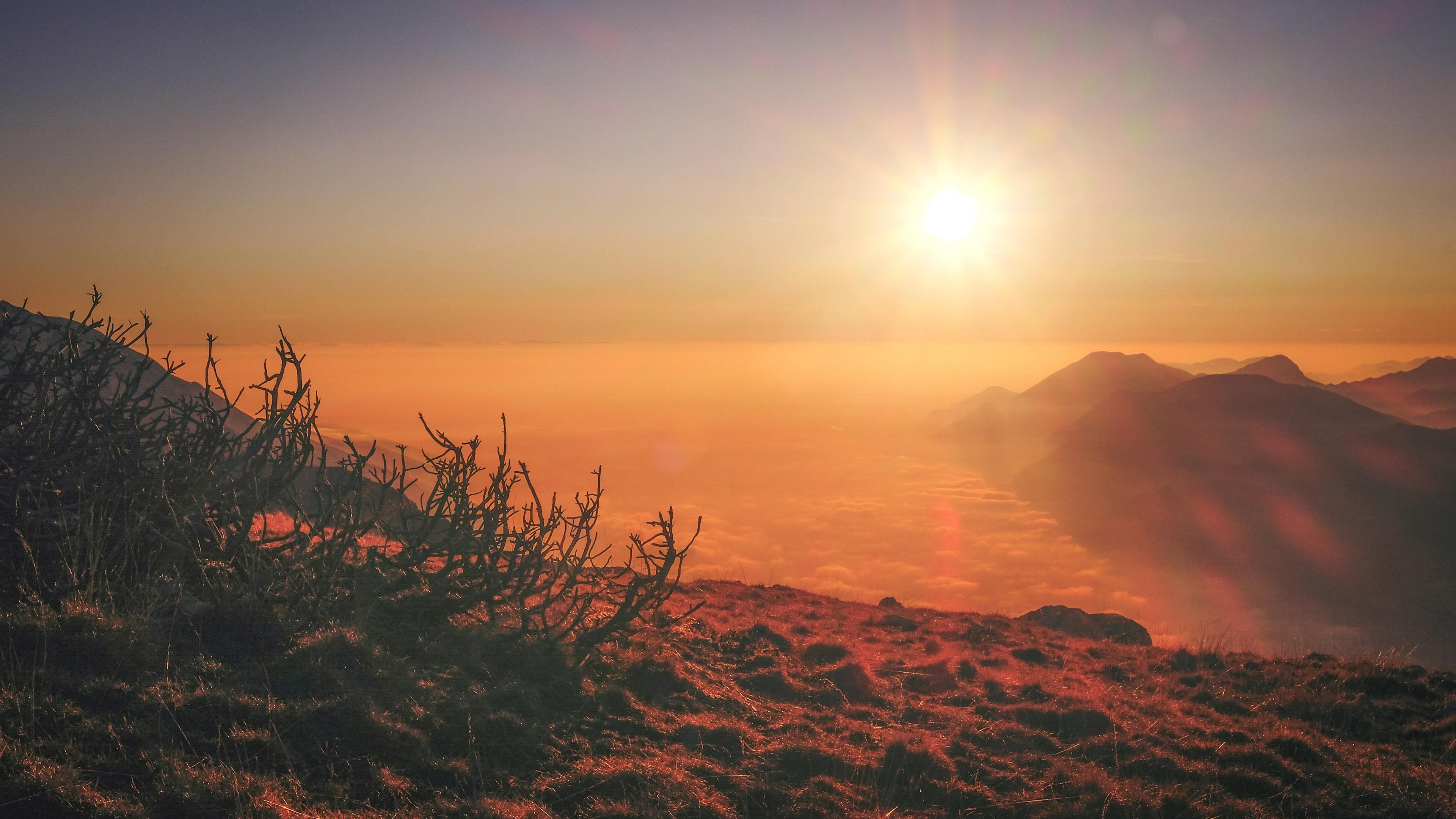 Photography Landscape Sunset Lens Flare Wallpaper And Lens Flare Hd Landscape 1436618 Hd Wallpaper Backgrounds Download
