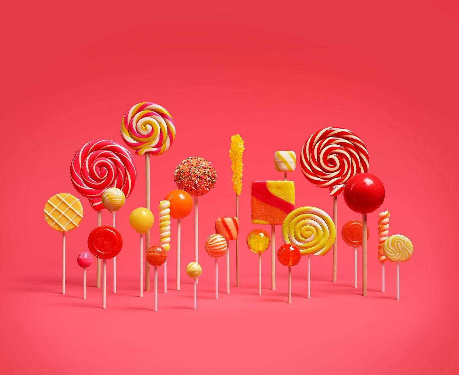 Wallpaper Lollipop Hd