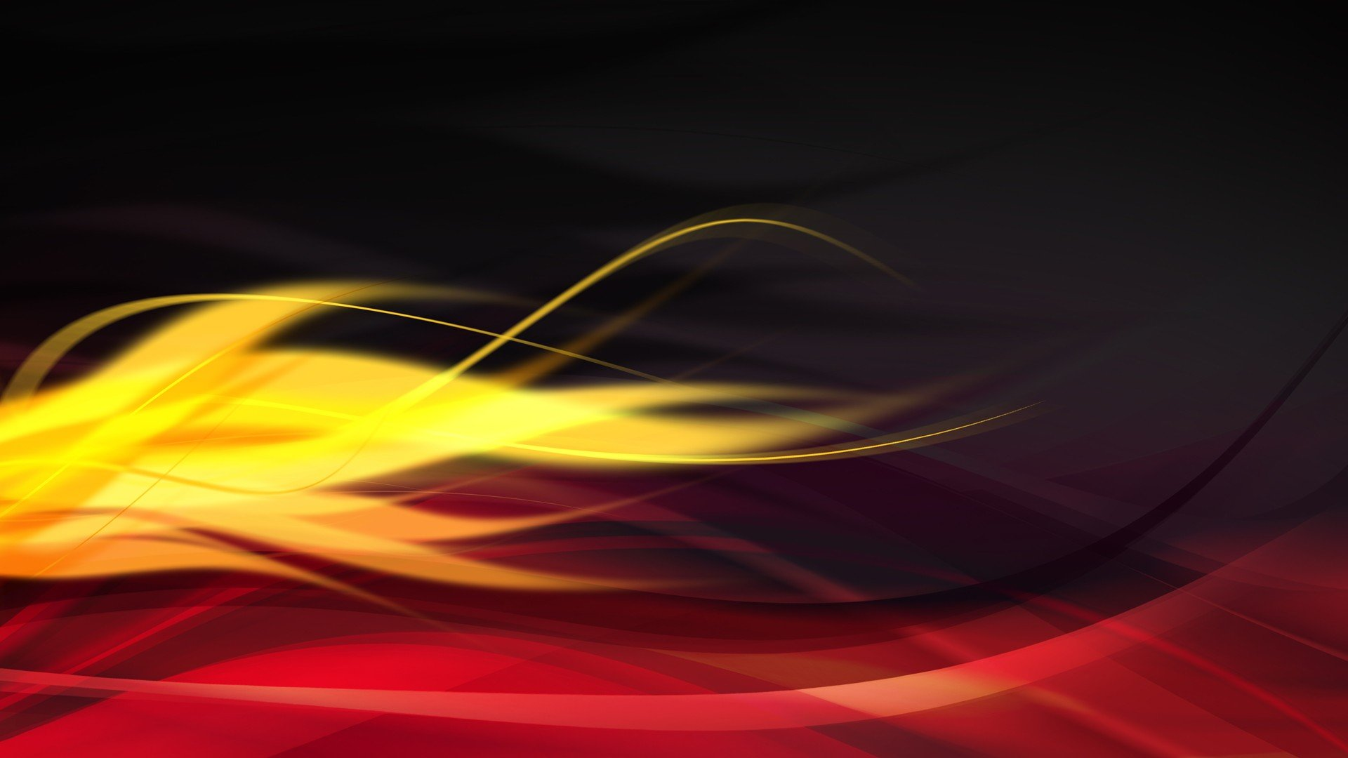 Red And Black Abstract Black Digital Art Red Flame Black Yellow Red Art 1441651 Hd Wallpaper Backgrounds Download