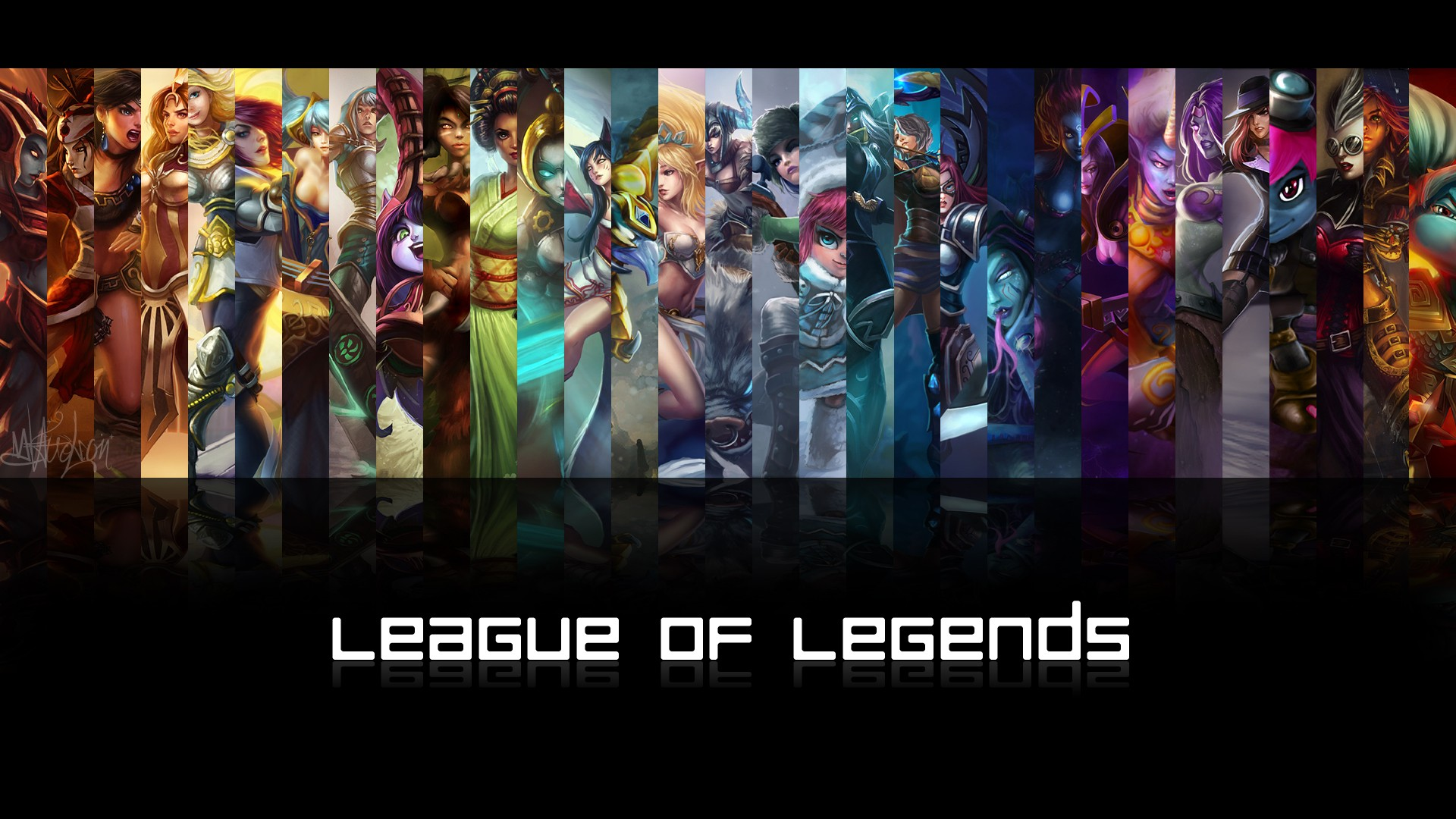Wallpaper League Of Legends Female Champions 1443663