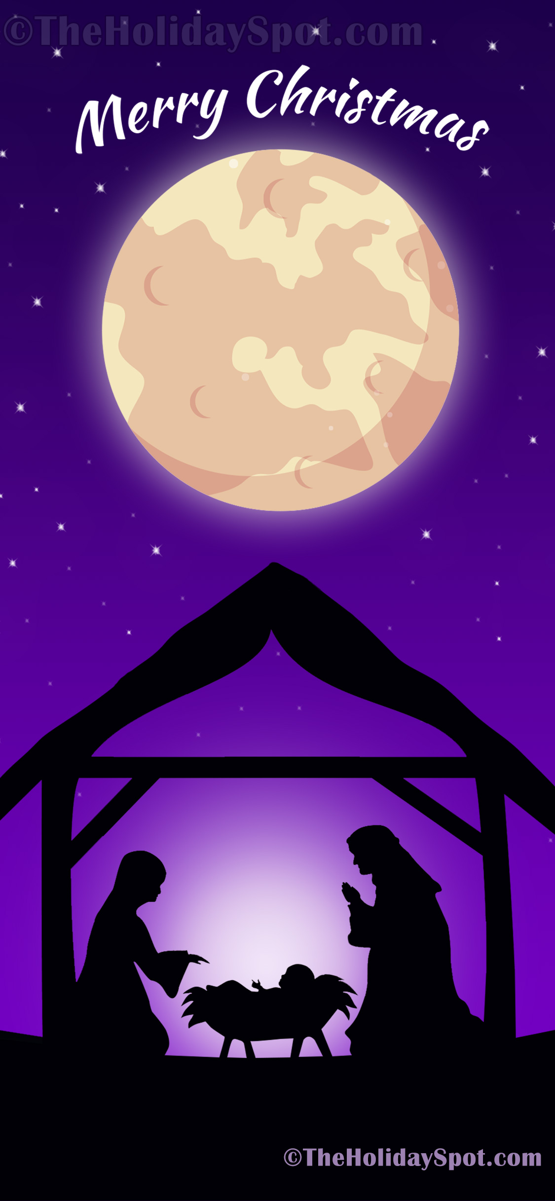 Christmas Wallpapers And Backgrounds For Iphone Nativity