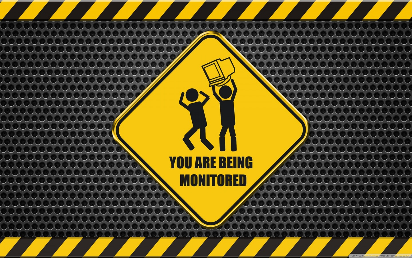 Wide 16 - - You Are Being Monitored Desktop , HD Wallpaper & Backgrounds