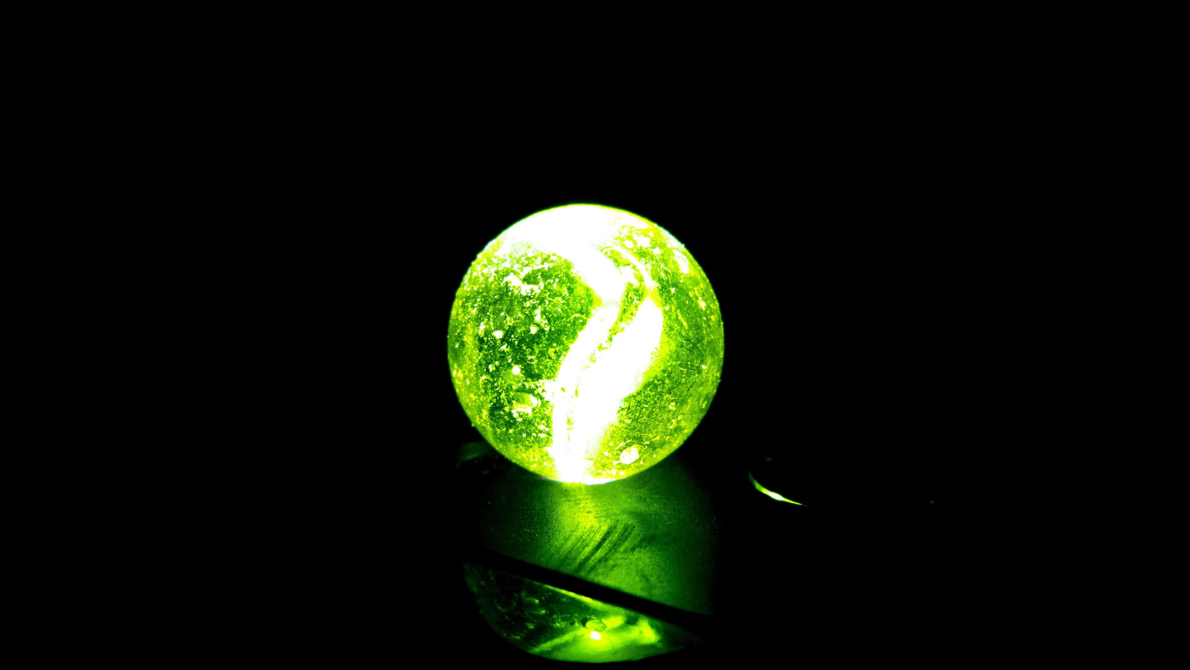 Ball Black Black And Green Burca Burquinha Dark Sphere