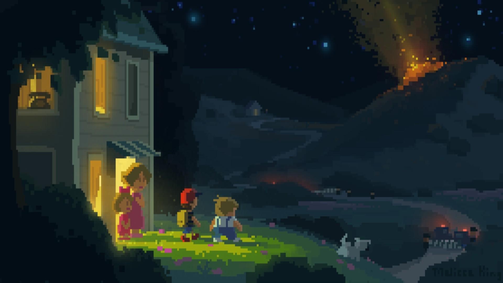 Retro Games Earthbound Minimalism Wallpaper