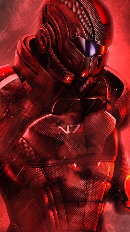 Wallpaper Mass Effect N7 Video Game Solider 4k Mass
