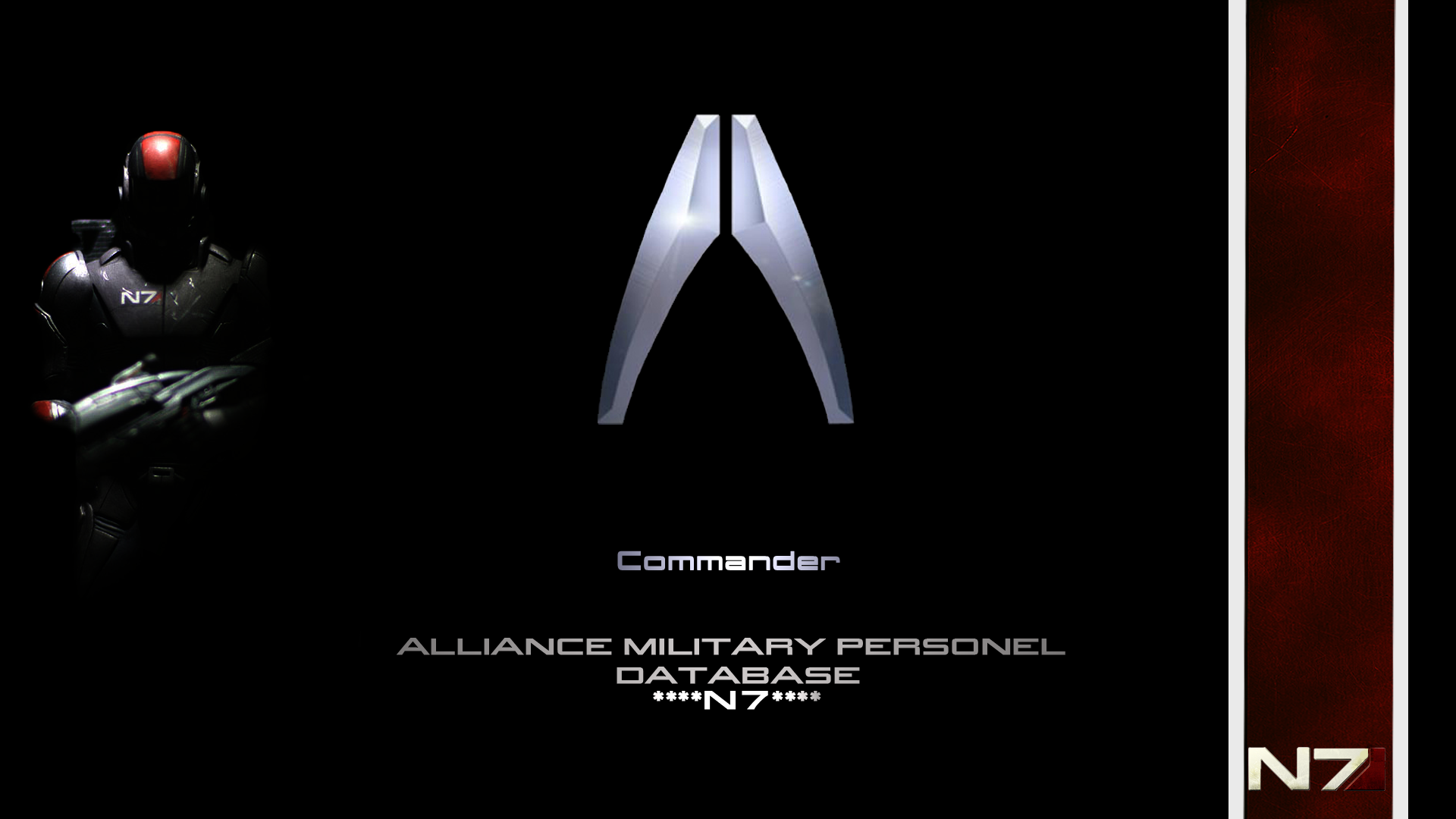 Mass Effect N7 1447171 Hd Wallpaper Backgrounds Download