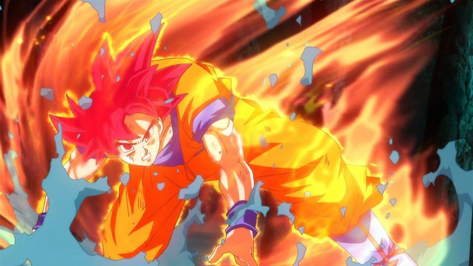 No Caption Provided Super Saiyan God Tournament Of Power