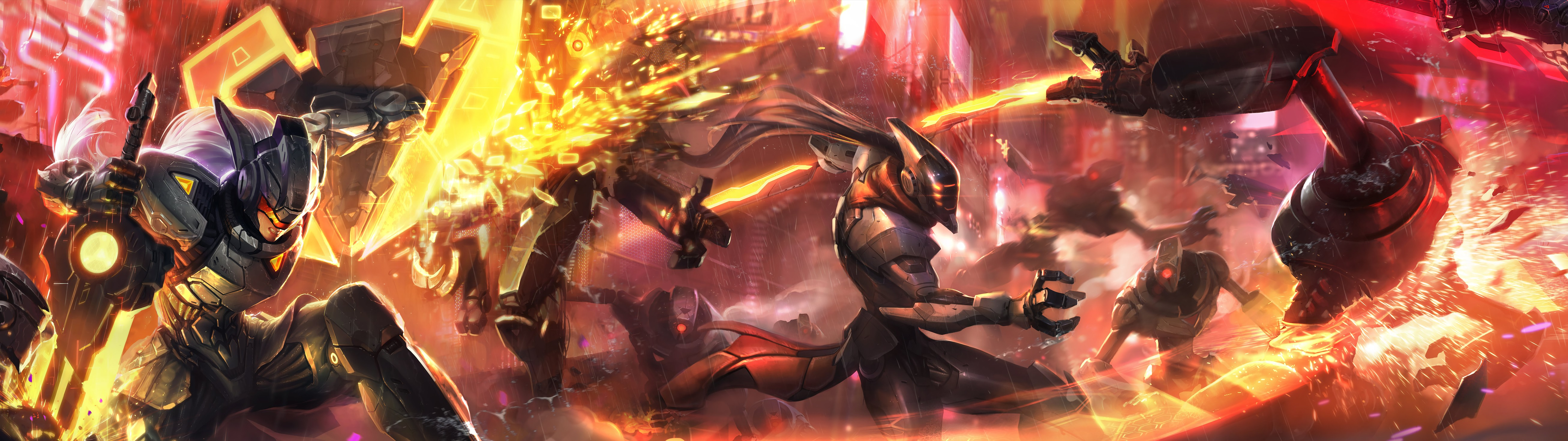 Project Leona Master Yi Hd Wallpaper Background Official