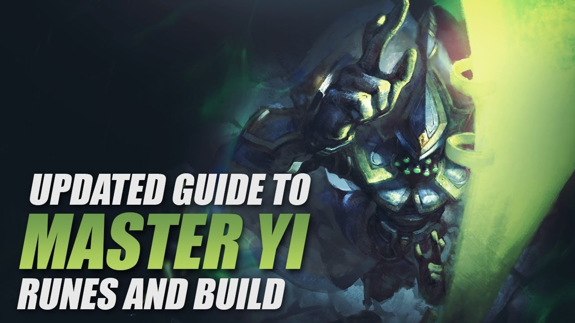 Updated Master Yi Runes And Build Pc Game 1447559 Hd