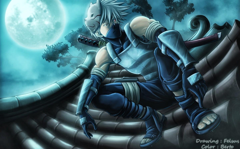 Anime Ninja Wallpaper Kakashi Anbu Wallpaper Hd 1449413 Hd