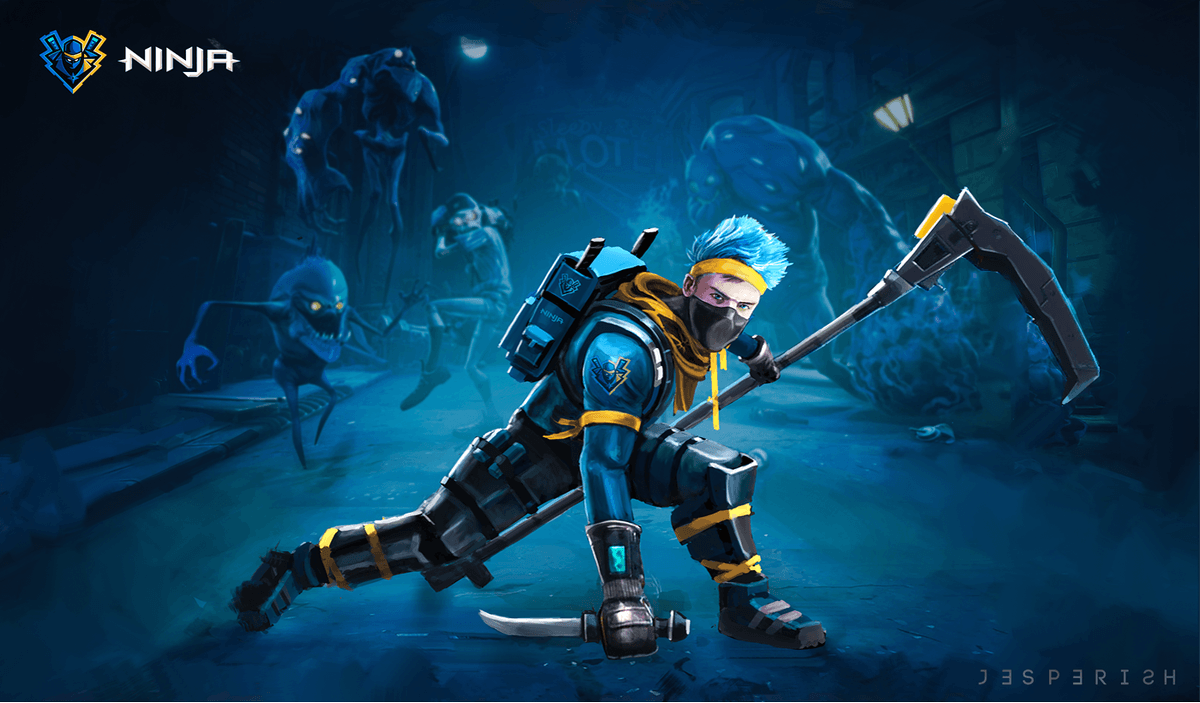 Cool Fortnite Ninja Wallpapers Top Free Skin Di Ninja Fortnite 1449449 Hd Wallpaper Backgrounds Download