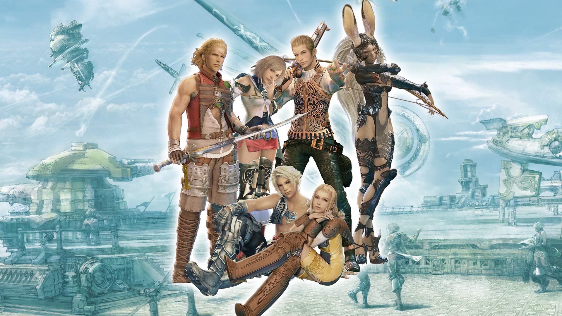 Final Final Fantasy 12 The Zodiac Age 1449656 Hd Wallpaper