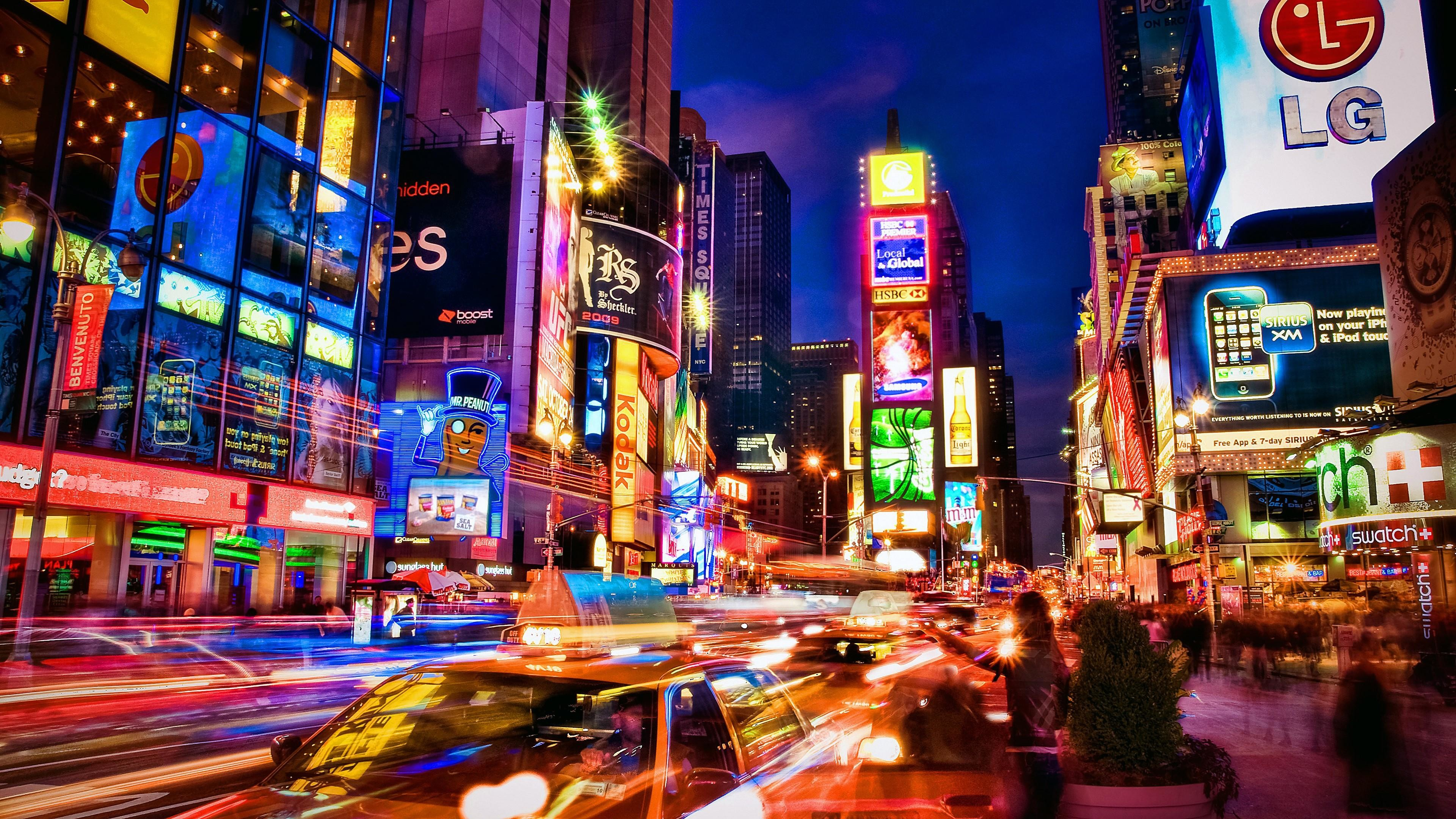 America City At Night 1450086 Hd Wallpaper Backgrounds Download