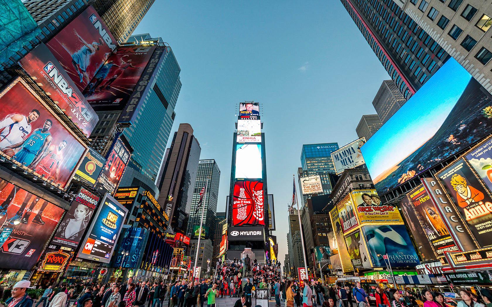 Times Square Nueva York 1450120 Hd Wallpaper