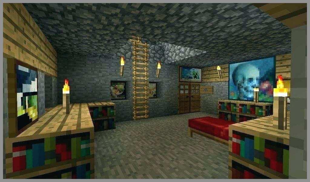 Minecraft Wallpapers Best Minecraft Room Wallpaper - Minecraft Bedroom Interior Design , HD Wallpaper & Backgrounds