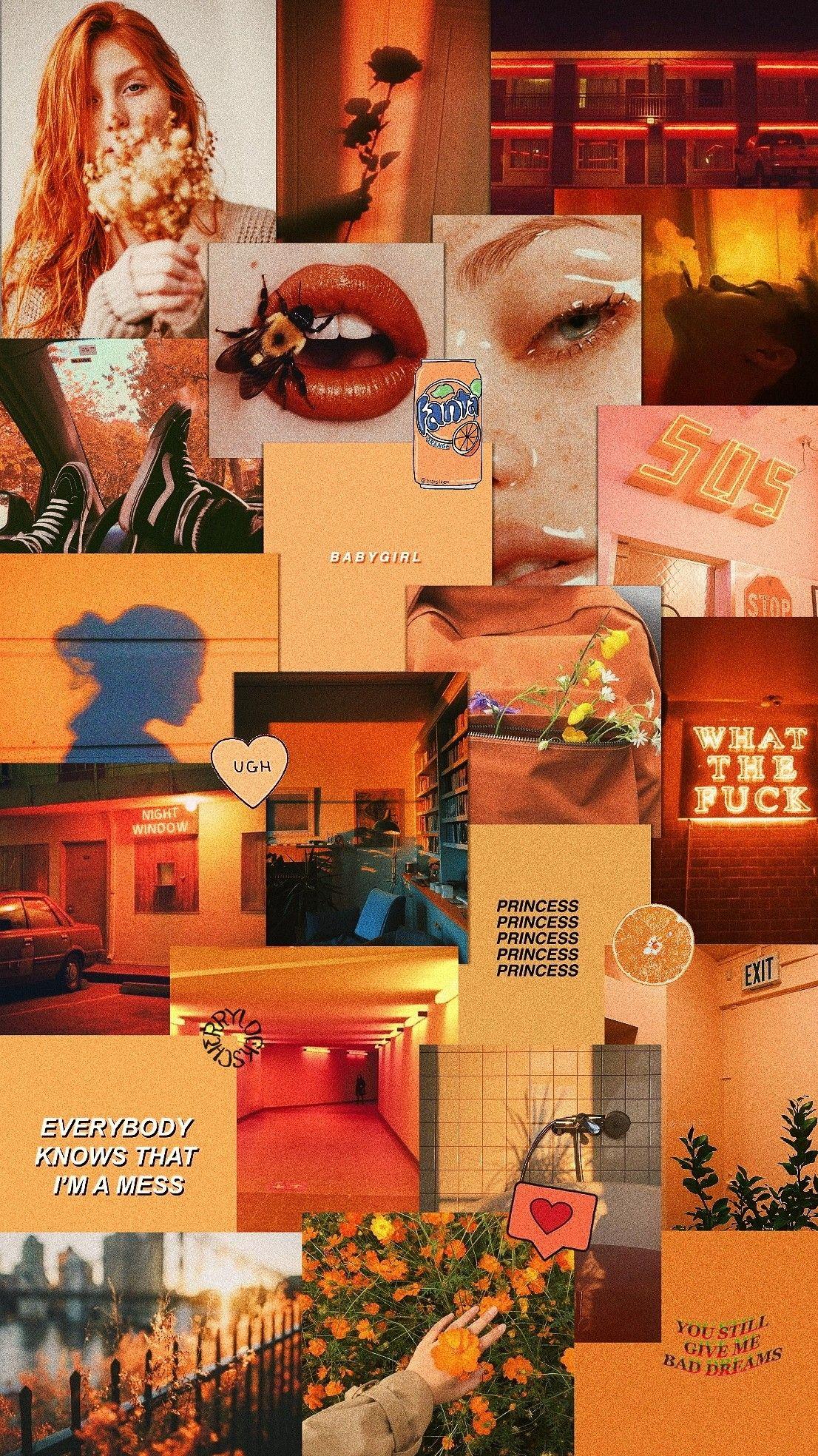 145 1454791 laranja aesthetic tumblr wallpaper screen wallpaper background laranja