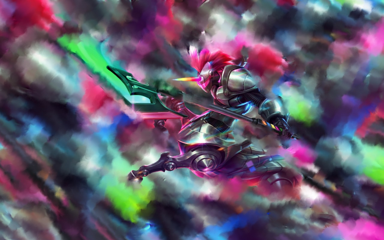 Right Click To Save Or Set As Desktop Background - Arcade Hecarim , HD Wallpaper & Backgrounds
