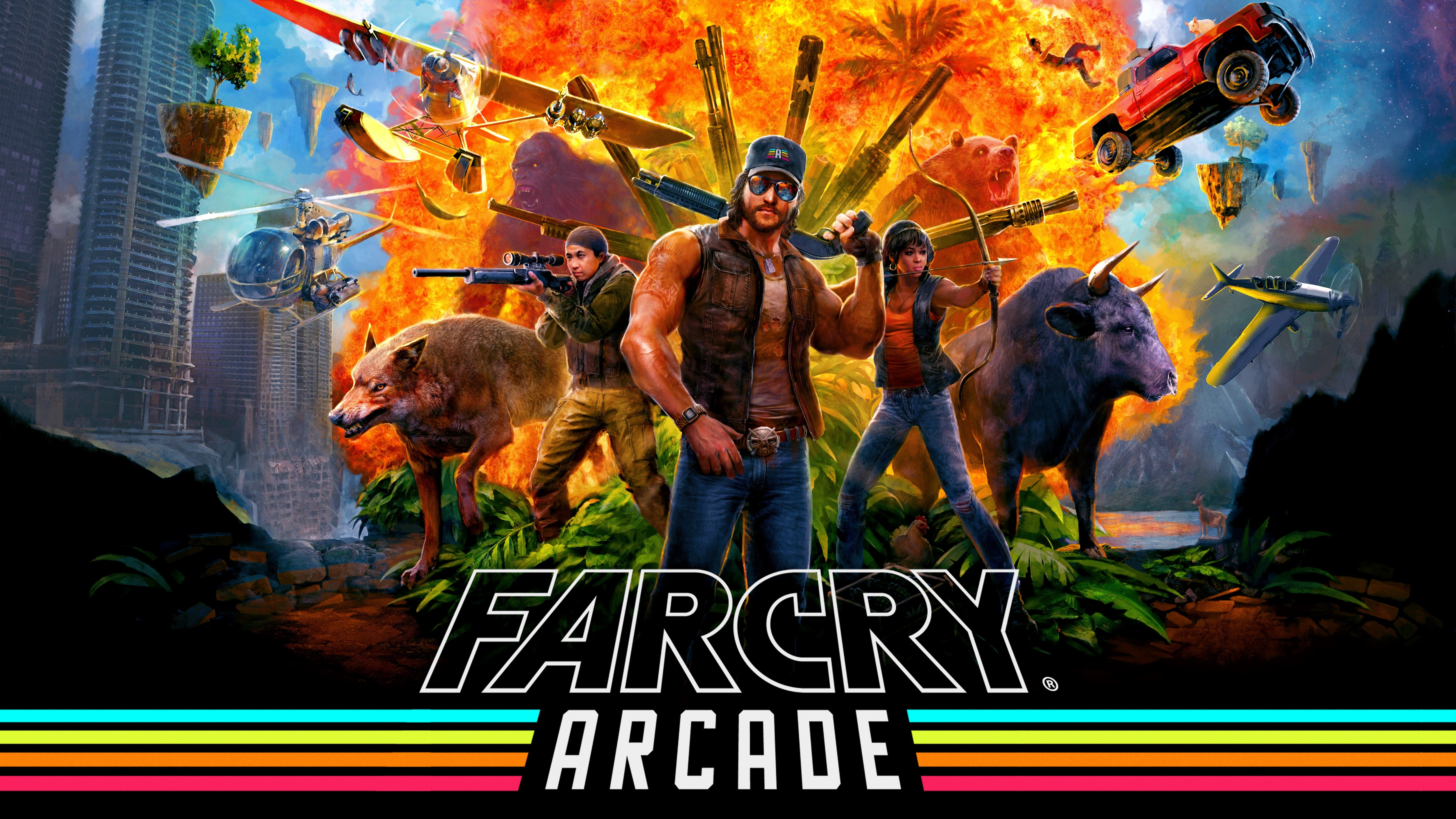 Far Cry 5 Arcade 1455814 Hd Wallpaper Backgrounds Download
