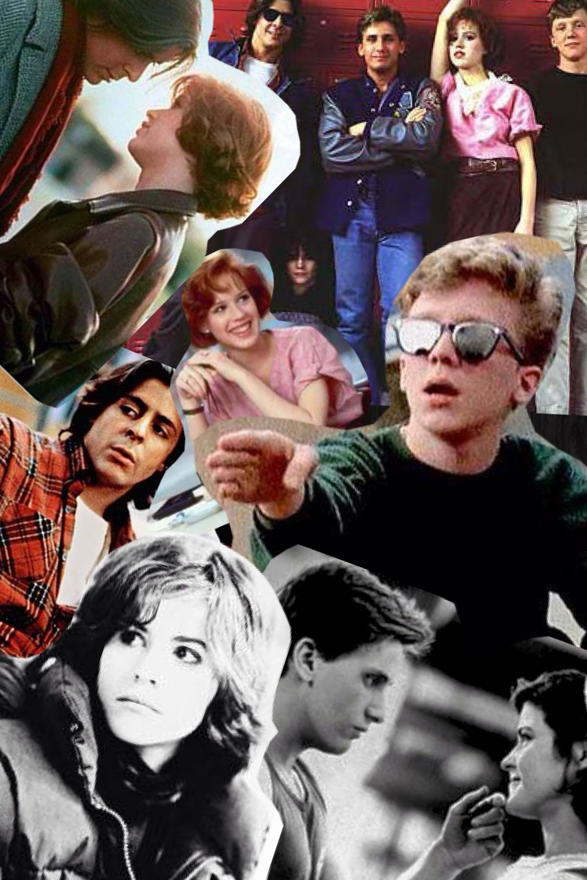 The Breakfast Club Collage Haha - Breakfast Club Wallpaper Iphone , HD Wallpaper & Backgrounds