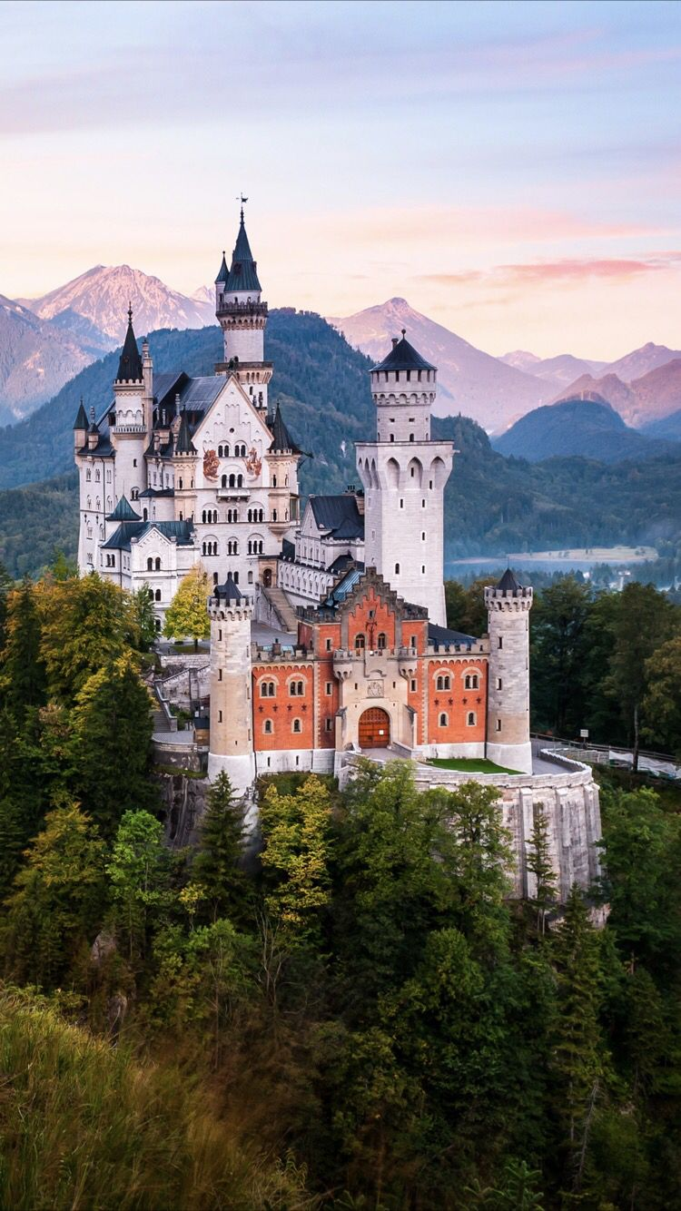Fairytale Castle Wallpaper For Your Iphone 8 From Everpix