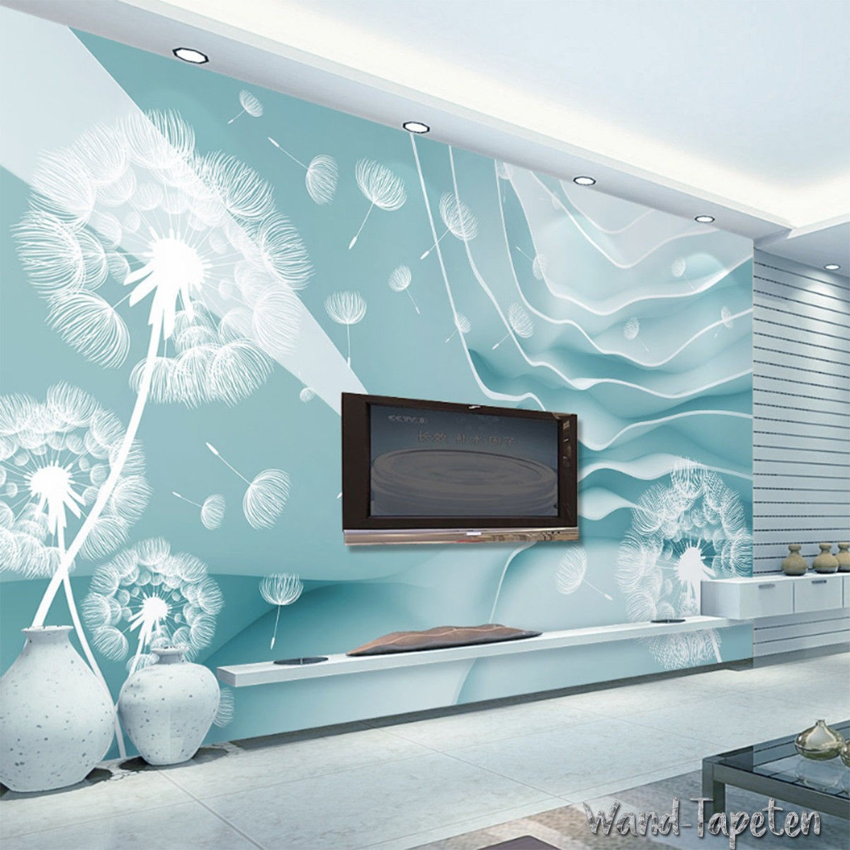 Vlies Fototapeten Wandtapeten Wandbilder 3d-dreidimensionale - Living Room Wall Decorations Ideas , HD Wallpaper & Backgrounds