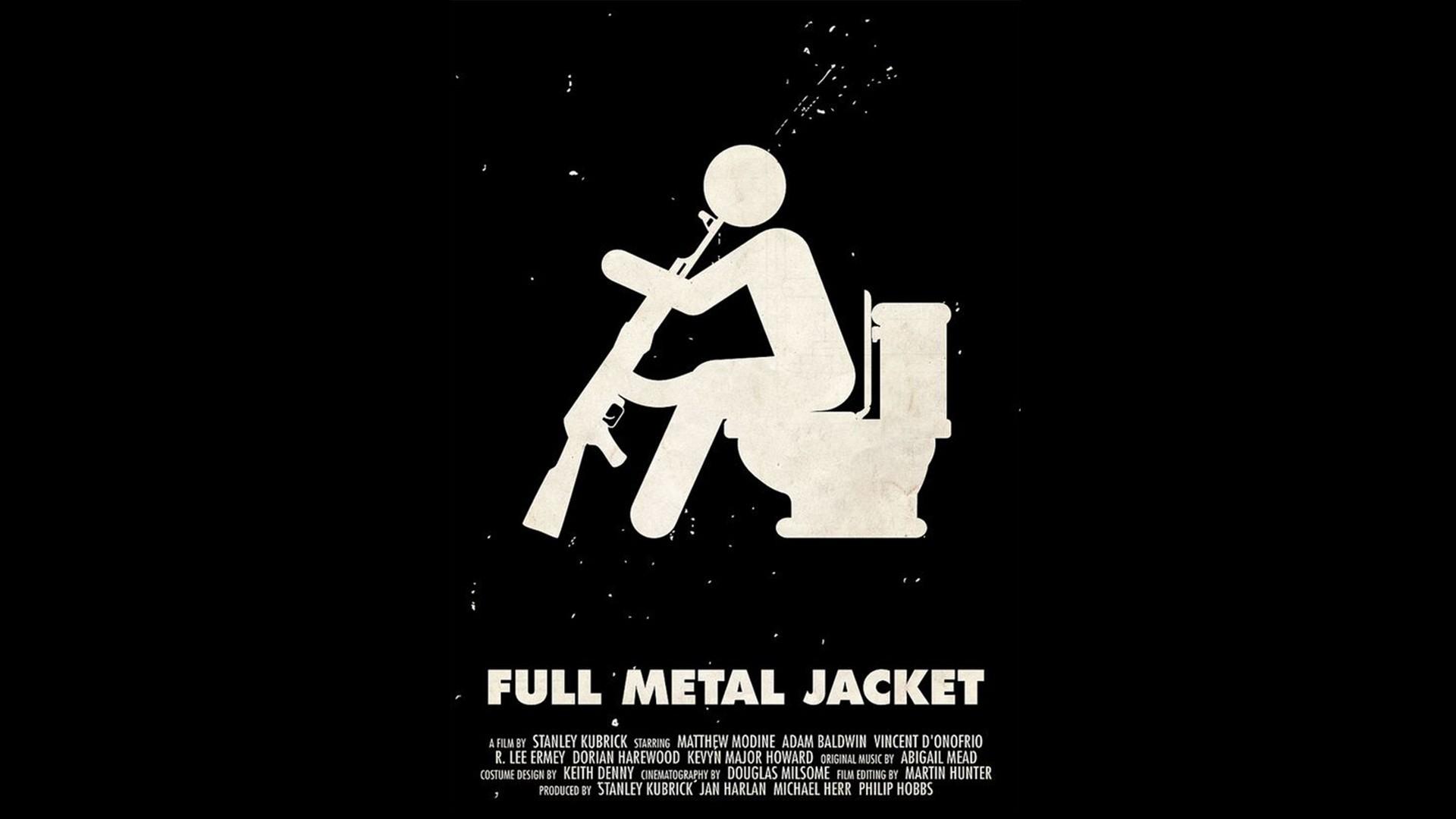 Full Metal Jacket Movie Hd Wallpaper - Full Metal Jacket Art , HD Wallpaper & Backgrounds
