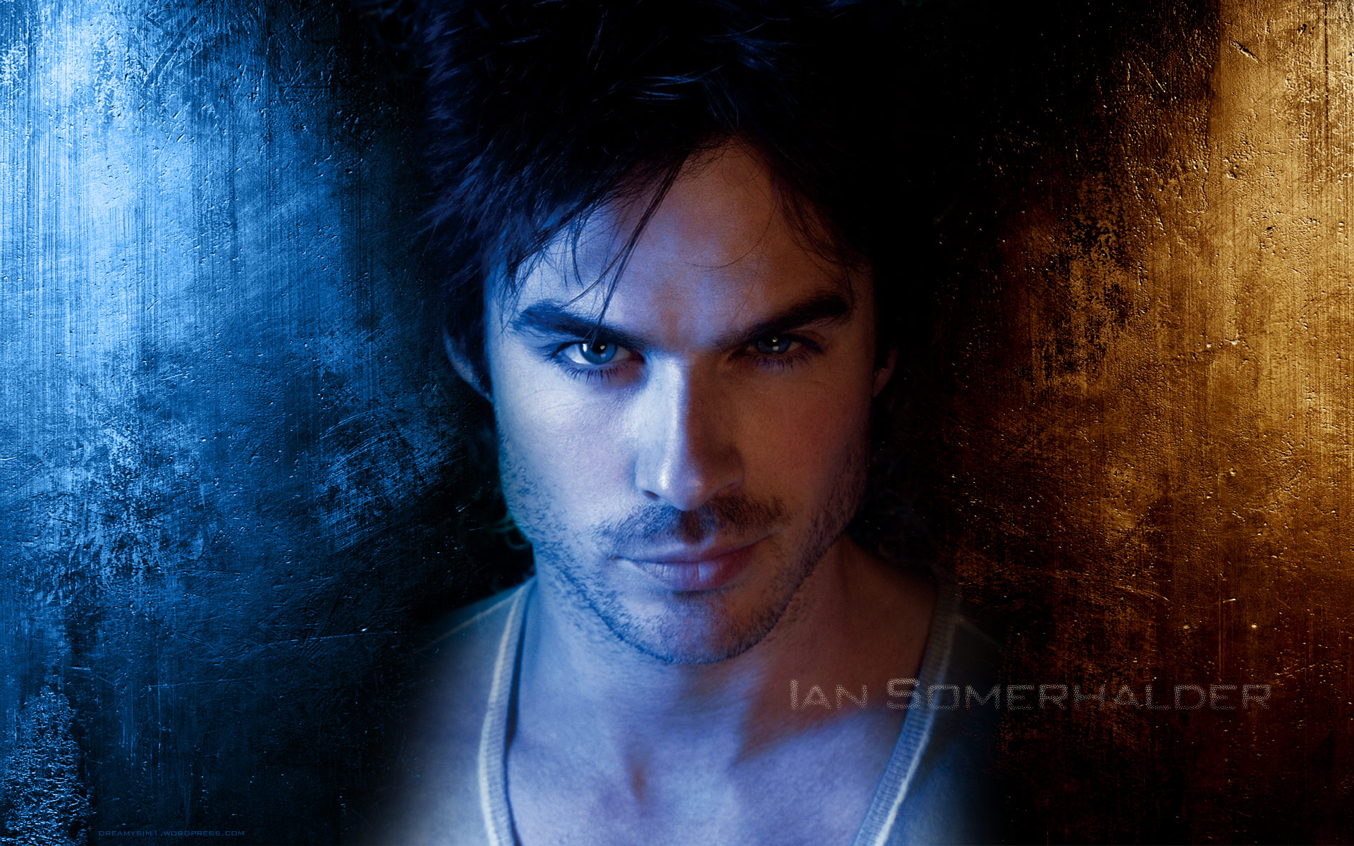 Click Here To Download - Damon Salvatore , HD Wallpaper & Backgrounds
