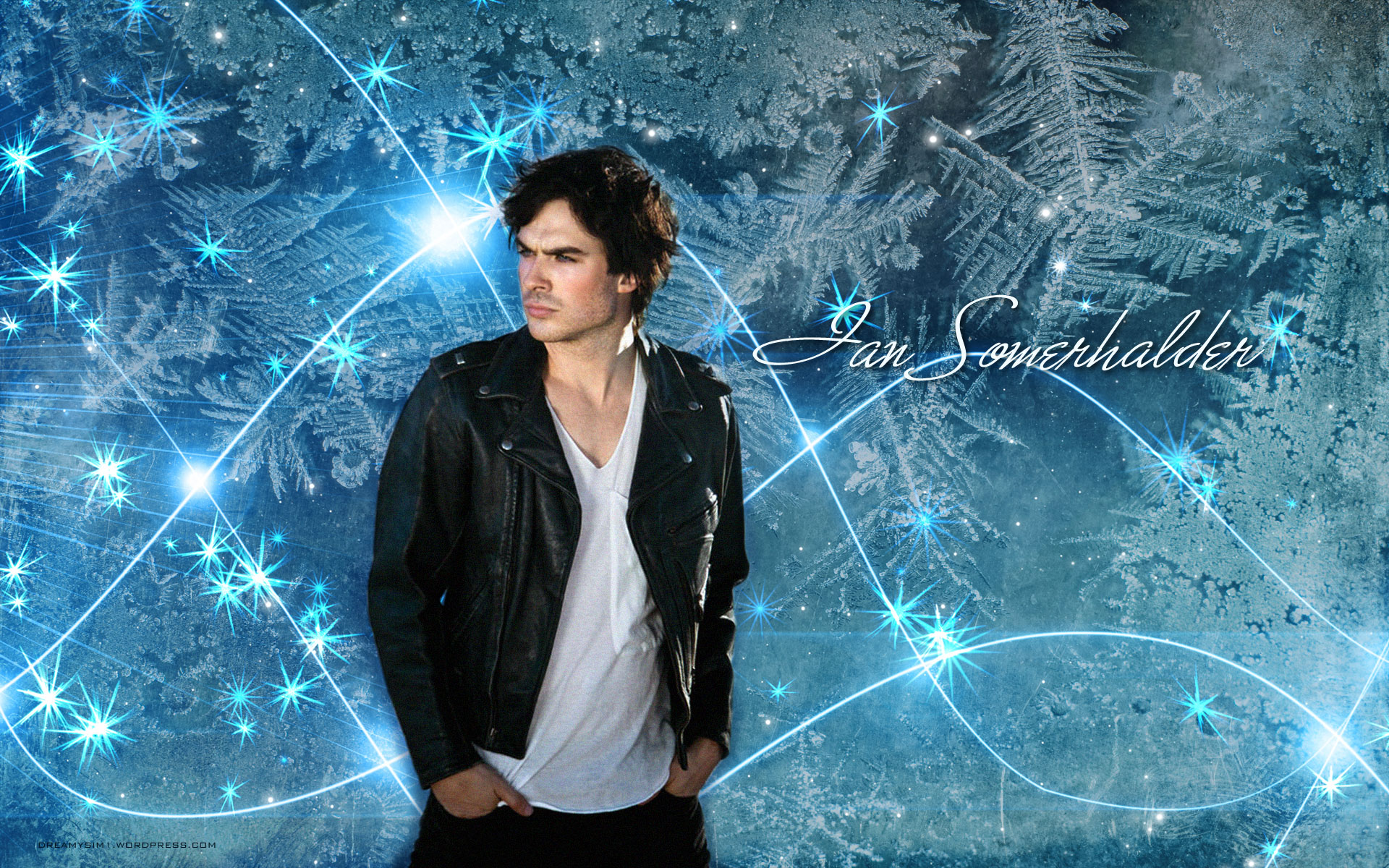 Click Here To Download - Vampire Diaries Wallpaper Damon , HD Wallpaper & Backgrounds