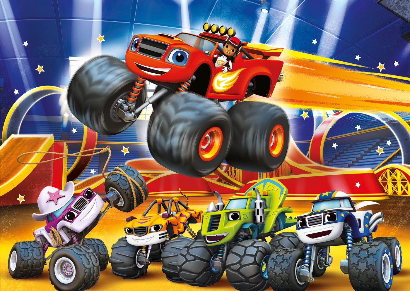 Baby Blaze And The Monster Machines Blase De Monster Machine