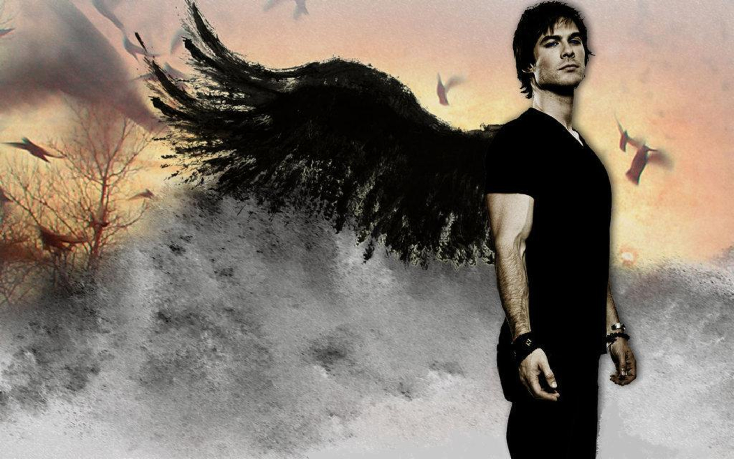 Ian Somerhalder - Love Quotes By Damon Salvatore , HD Wallpaper & Backgrounds