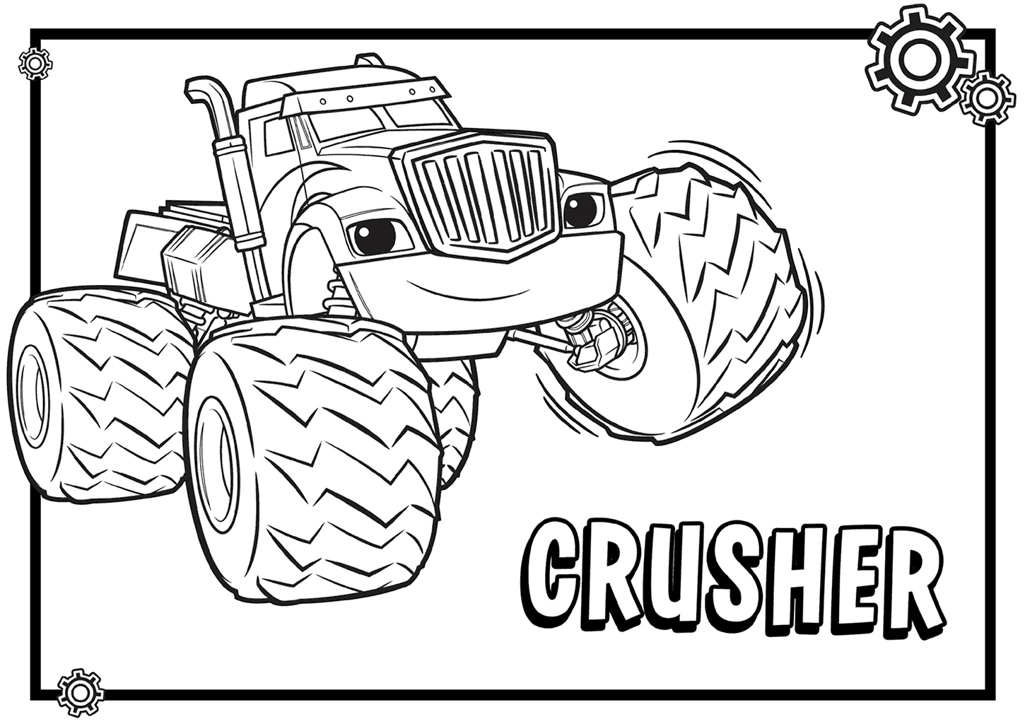 Blaze Coloring Pages Pages De Coloriages Blaze And - Coloring Blaze And The Monster Machines , HD Wallpaper & Backgrounds
